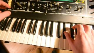 Moog Opus-3 Demo