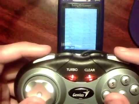 Sony Ericsson K800i with Genius MaxFire Pandora