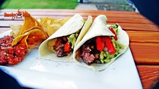 Hot Summer Night Fajitas ~ Grill Dome