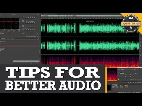 Quick Tips: Audio Editing!