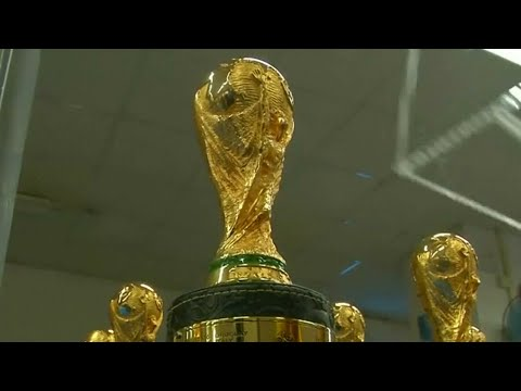 Chinese Factory Helps Fans Get Their Version Of World Cup Trophy