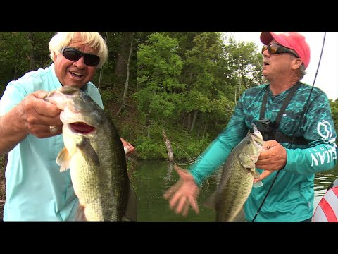 Crank Bait Lesson With Jimmy And Richard Gene