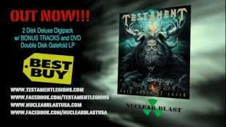 TESTAMENT - Dark Roots of Earth (OUT NOW IN AMERICA) (OFFICIAL PROMO)
