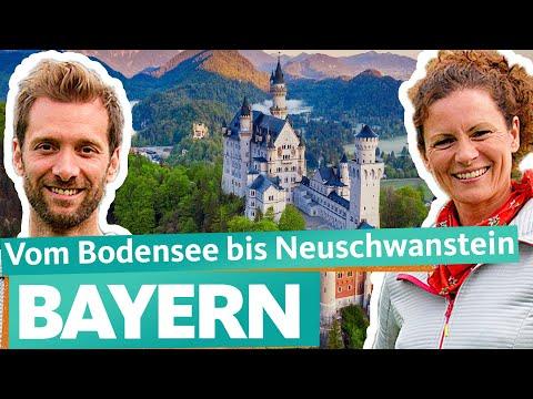 Vom Bodensee nach Neuschwanstein - Reise durch Bayern (1/2) | WDR Reisen