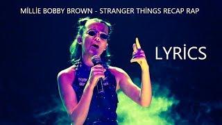 Millie Bobby Brown - Stranger Things Season 1 Recap Rap Lyrics