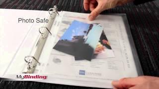 WLJ 21400 21042 Wilson Jones Super Heavy Weight Sheet Protectors Demo