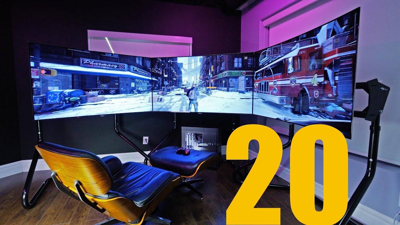 les 20 plus beau setup du monde youtube. Black Bedroom Furniture Sets. Home Design Ideas