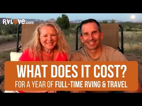 What Does a Year of Full-Time RVing and Travel Cost? Here's What We Spent in 2016.