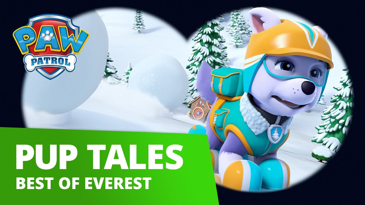 Paw Patrol Best Of Everest Rescue Compilation Paw Patrol Official Friends Youtube