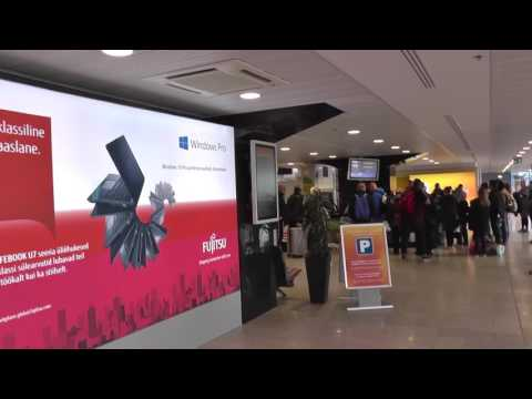 Tallinn Lennart Meri Airport. Estonia