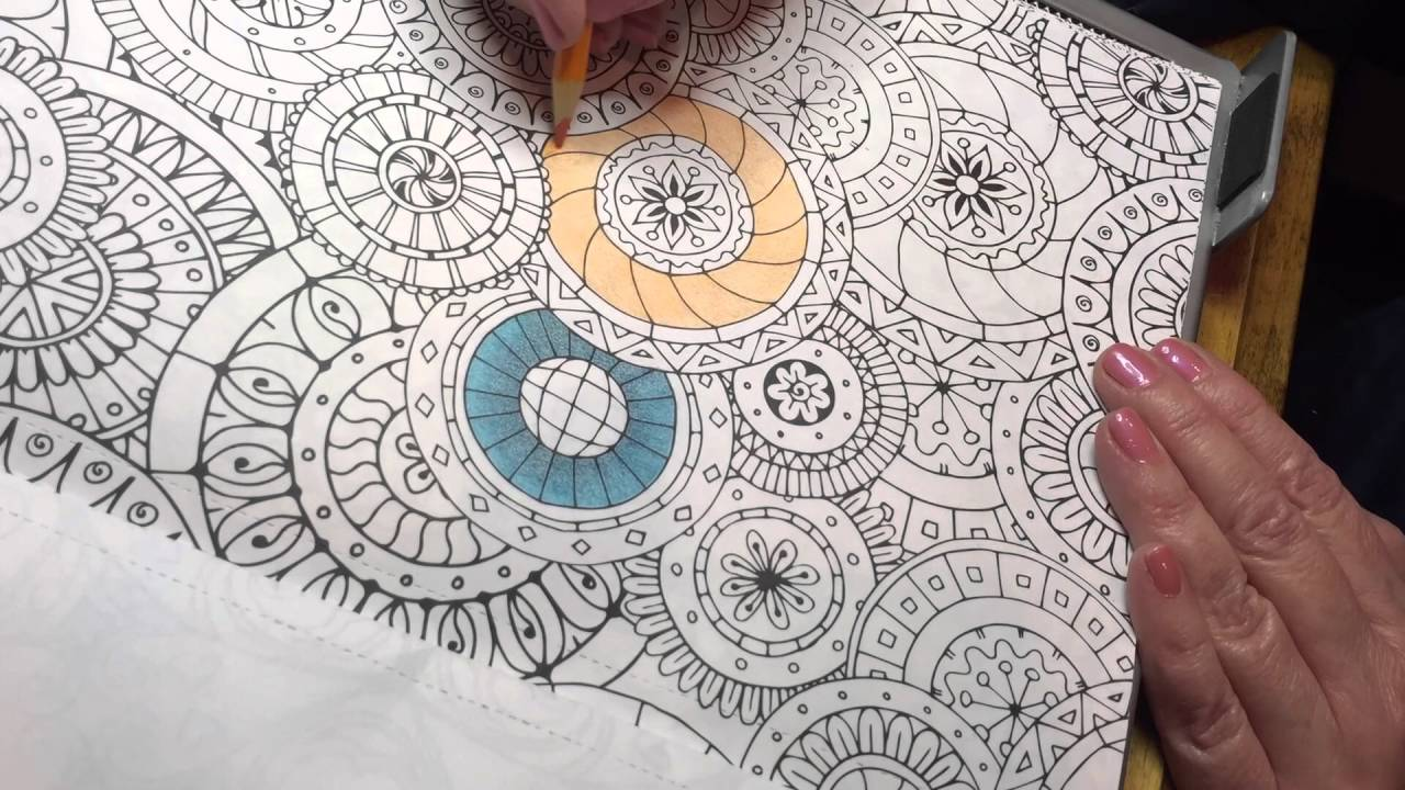 Blending Techniques Kaleidoscope Wonders Coloring Book