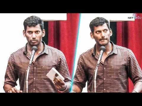 Who Is That BLACK SHEEP ? Vishal Super Speech At Book Launch | I Am Proud To Release This Book !