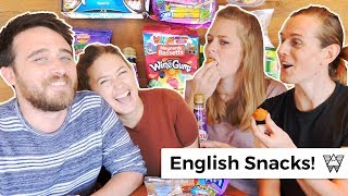 Americans try English snack food for the first time!