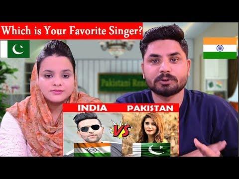 Indian Singers Vs Pakistani Singers Battle (INDIA VS PAKISTAN). Which is Your Favorite Singer? thumbnail