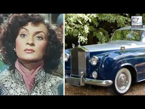 Nadira Became India's FIRST Actress To Own A Rolls Royce