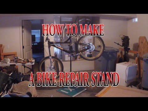 DIY: How to make bike stand