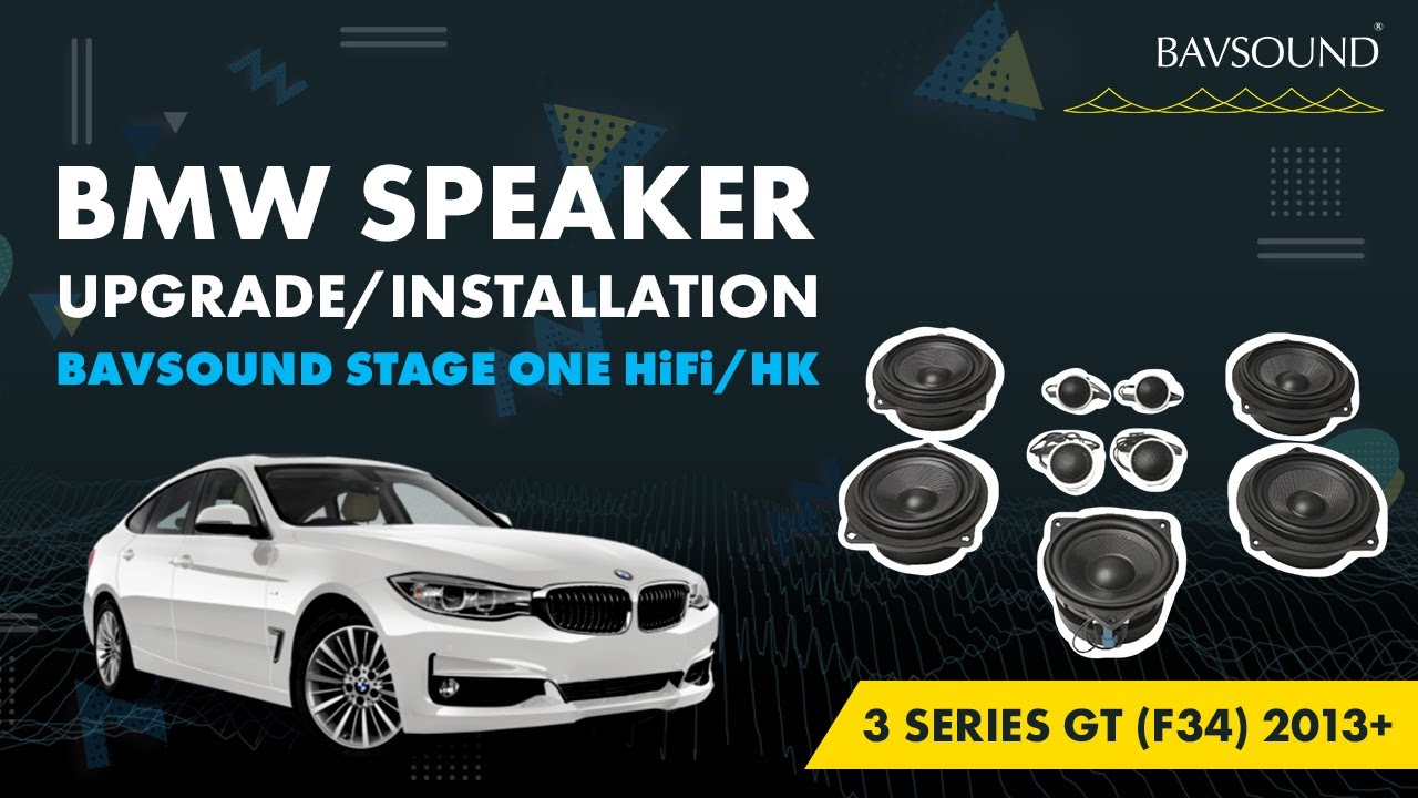 BAVSOUND BMW 3 Series GT F34 2013 Stage One HiFi