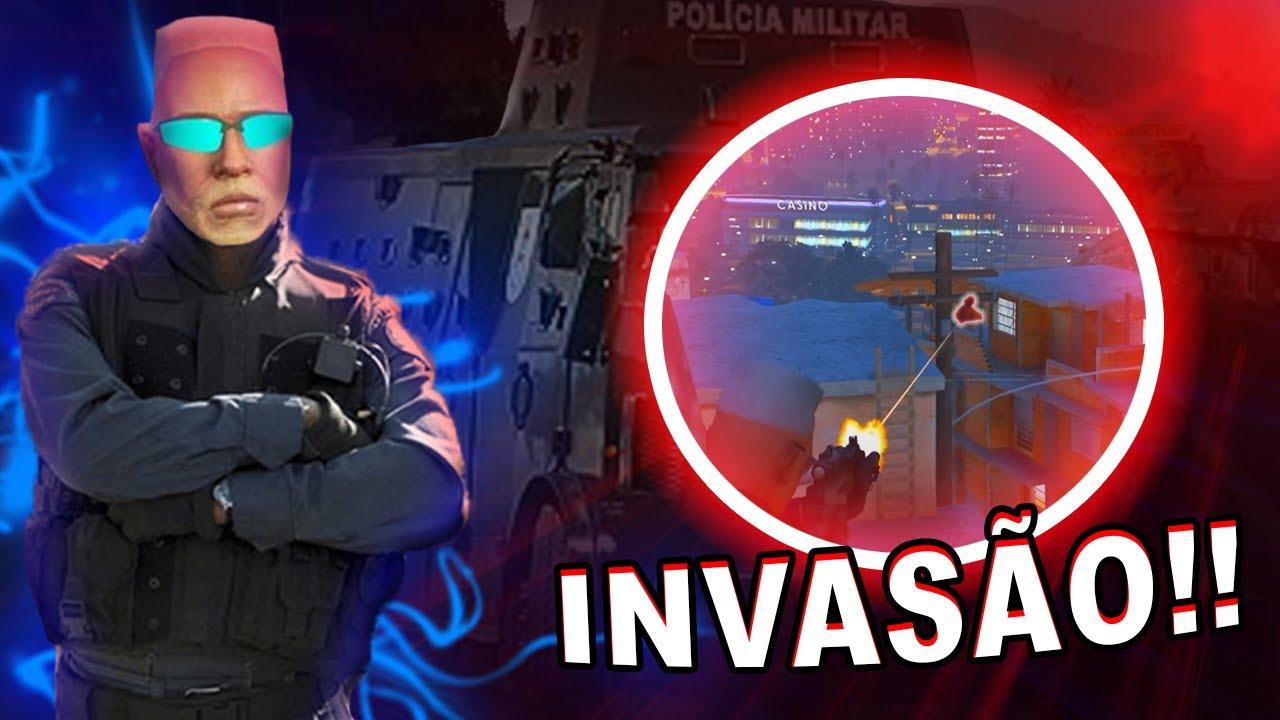 POLICIA INVADIU A FAVELA! - GTA RP