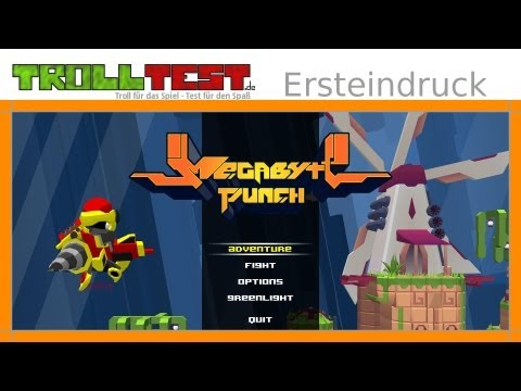 Megabyte Punch im Check – 2D-Action-Sidescroller mit Loot (Gameplay, German, HD)