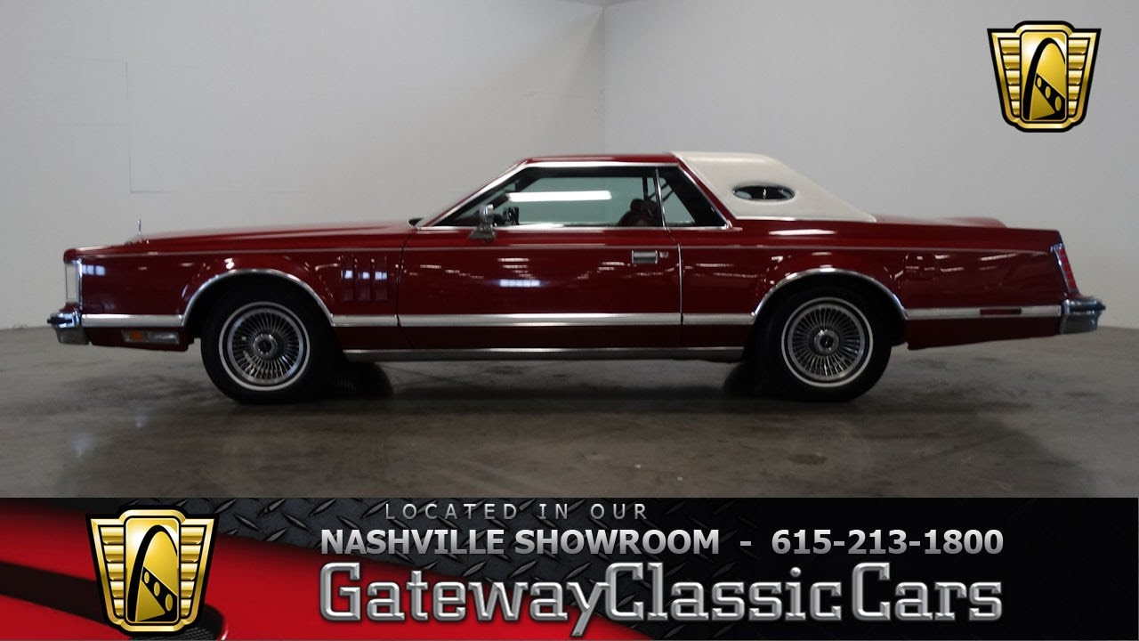 1979 Lincoln Continental Mark V, Gateway Classic Cars ...