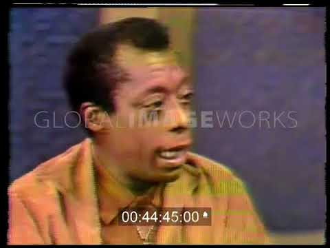 Dick Cavett with James Baldwin