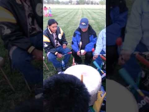 Big Wind singers Central Wyoming College fall powwow 2016