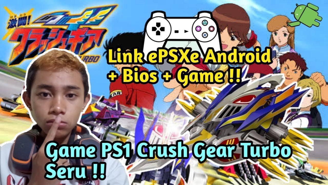 Main Game Keren PS1 Crush Gear Turbo + Link Download ePSXe dan Bios !!!