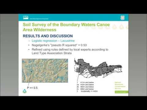 Webinar - Soil Survey of the Boundary Waters Canoe Area Wilderness (12/2017)
