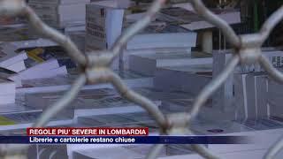 Etg - In Lombardia ordinanza per regole più strette: librerie e cartolerie restano chiuse