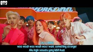 [INDO SUB/ROM] BTS (방탄소년단) '작은 것들을 위한 시 (Boy With Luv) feat. Halsey'