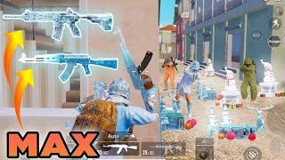 DOUBLE GLACIER MADNESS!!! (MAX AKM + M416) PUBG MOBILE
