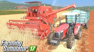 Żniwa Bizonem w Ameryce Południowej - Farming Simulator 17 [PLATINUM] | #1