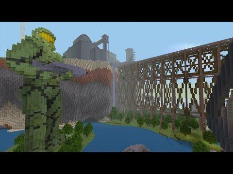 Minecraft Xbox - Halo Derailed - Hunger Games