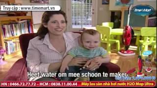 Máy lau sàn nhà bằng hơi nước H2O Mop Ultra - TIMEMART