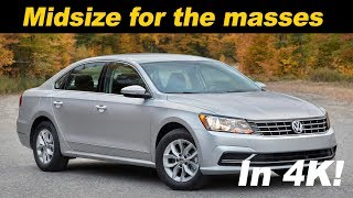 2017 Volkswagen Passat 1.8T Review and Road Test in 4K UHD!