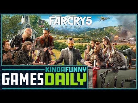Far Cry 5 Impressions - Kinda Funny Games Daily 03.26.18
