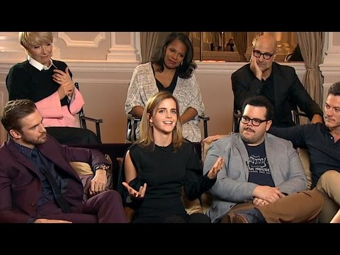 Cast of live-action 'Beauty and the Beast' dish on playing classic characters | ABC News
