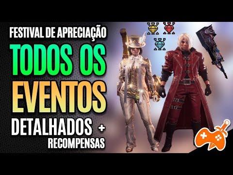 Monster Hunter World | Festival de Apreciação - TODOS os eventos DETALHADOS e RECOMENPENSAS [Guia] thumbnail