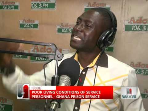 Ghana Prison Service Part 2 - Fabewoso on Adom TV (30-6-16)