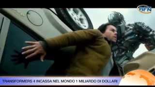Transformers 4 è campione di incassi nel mondo con 1 mld di dollari (VIDEONEWS)