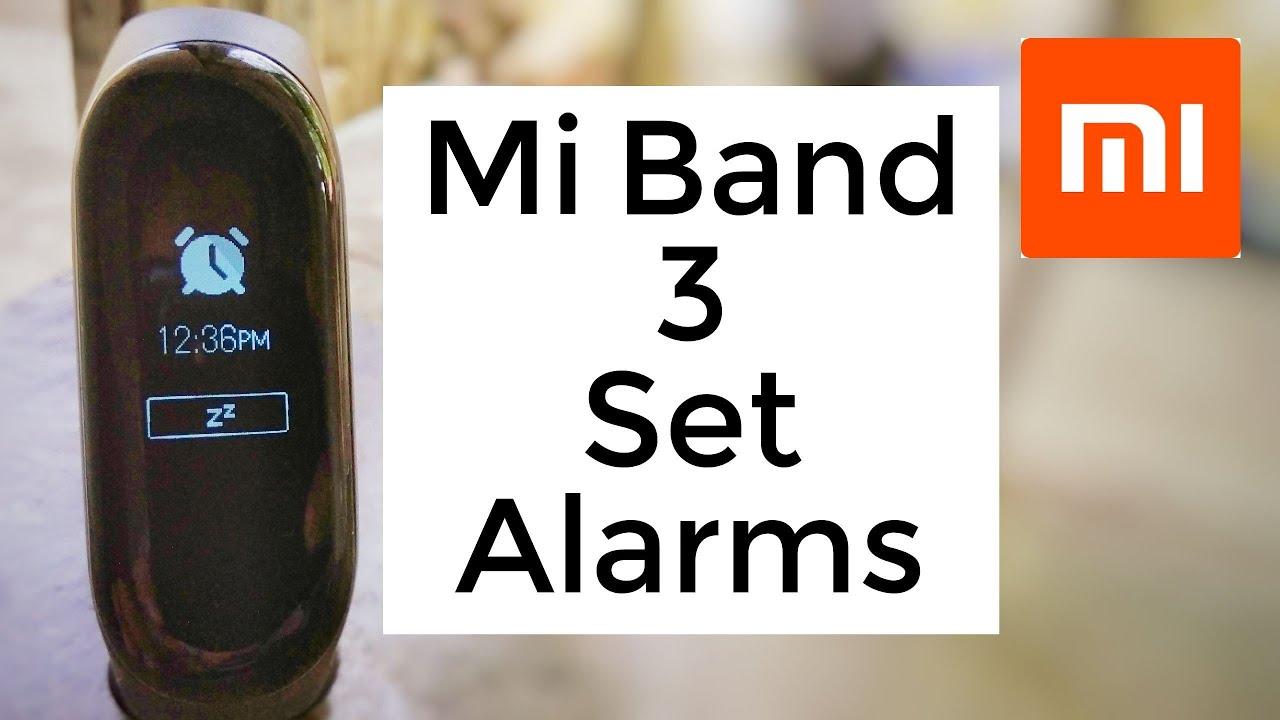 Mi Band 3 Tricks | How To Set Alarms | Snooze Alarm | Pause Alarm