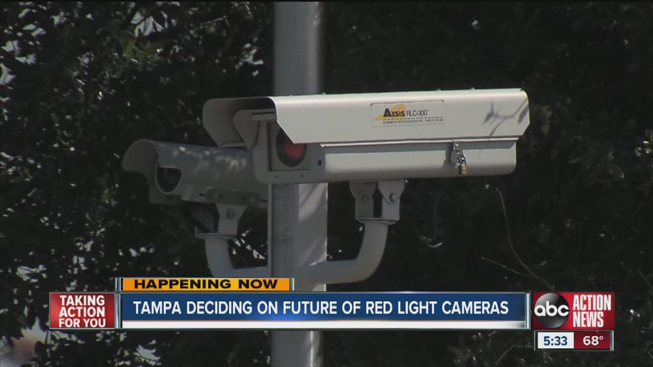 Tampa To Decide Fate Of Red Light Cameras