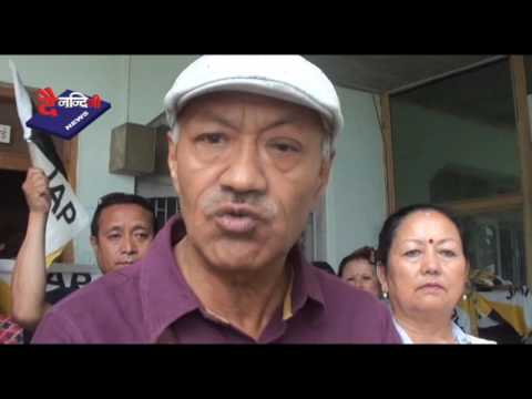Darjeeling Unrest 20th June 2017 Dainandini NEWS, Kalimpong