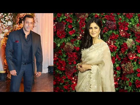 Salman Khan Girlfriend Katrina Kaif At Ranveer Deepika Wedding Reception
