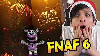 FIVE NIGHTS AT FREDDY'S 6: INCREÍBLE !! - Noche 1 FREDDY FAZBEAR'S PIZZA SIMULATOR