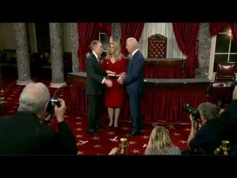 Lankford Takes Oath of Office in Ceremonial Swearing-in