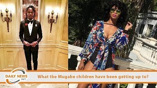 What the Robert Mugabe children have been getting up to?
