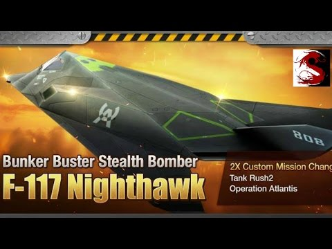 "Gunship Battle [Update] New Plane ""F-117 Nighthawk""  "