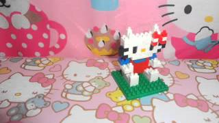 Short Stop Motion Hello Kitty Sanrio Lego