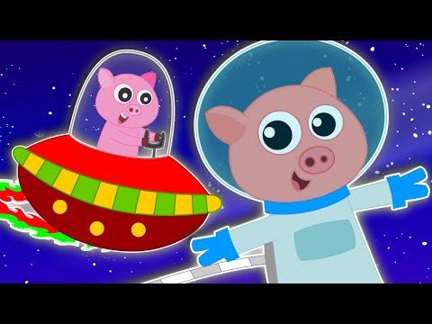 Five Little Piggies | Nursery Rhymes | Kids Rhymes | Baby Songs | Video For Childrens